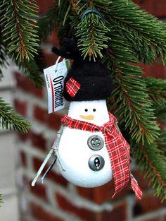 <3  Snowman lightbulb