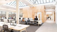 Airbnb's new office perfectly expresses the young company's ethos of openness, collaboration and constant enterprise—all in the comfort of home....