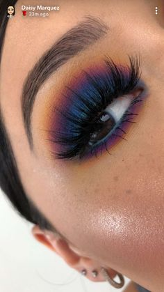 Makeup goals info are readily available on our site. Have a look and you wont be sorry you did. Cute Eye Makeup, Makeup Eye Looks, Pretty Makeup, Skin Makeup, Eyeshadow Makeup, Blue Eyeshadow Looks, Eye Makeup For Halloween, Eyeshadows, Scarecrow Makeup