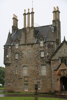 Lauriston Castle is a 16th-century tower house with 19th-century extensions overlooking the Firth of Forth, in Edinburgh, Scotland. It's where 'The Prime of Miss Jean Brodie' was filmed
