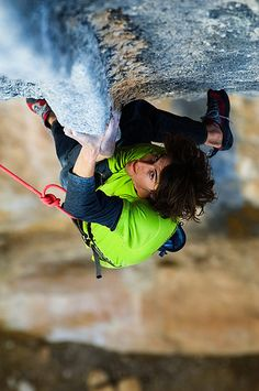 Rock Climbing - Dave Graham by Keith Ladzinski