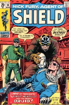 Nick Fury, Agent of Shield #18