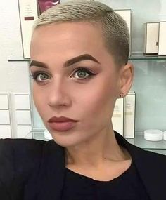 Short shaved style