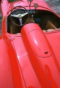 1957 Ferrari 250 TR Rear View