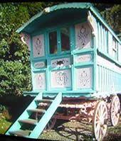 English Gypsy caravan, Gypsy Wagon, Gypsy Waggon and Vardo: Photograph Gallery 1 Belonged to Roald Dahl