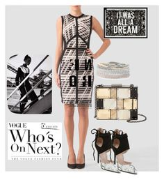 """""""a little dream"""" by masayuki4499 ❤ liked on Polyvore featuring Joseph Ribkoff, Sondra Roberts, Stella & Dot and Oliver Gal Artist Co."""