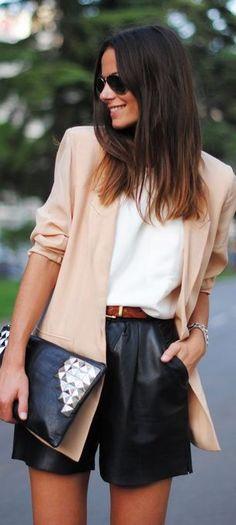 Dressy Casual Style | http://allthingselegant.tumblr.com/post/39636762321