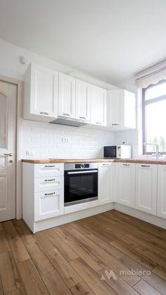 Kitchen Room Design, Kitchen Cabinet Design, Kitchen Cabinets, Rustic Modern, Living Room Decor, Sweet Home, Interior Design, House, Furniture