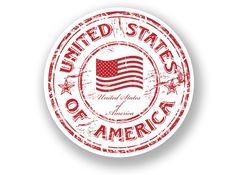 2 x United States of America Vinyl Sticker Travel Luggage USA luggage 2 x United States of America Vinyl Sticker Travel Luggage USA Travel Stamp, Passport Stamps, Tumblr Stickers, Custom Stamps, Aesthetic Stickers, Glossier Stickers, Clip Art, The Unit, Travel Luggage