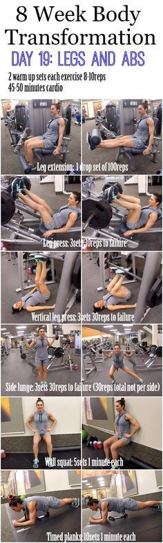 How is everyone? How are those Shoulders? Mine are sore, and I love it. Today is Leg day and we will also be doing some abs too. We will be doing 2 sets of 8-10 reps for each exercise to make sure out legs are nice and warmed up (if you don't have time to...Read More »