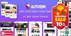 Autusin – Best Auto Parts & Car Accessories Shop Elementor WordPress Theme (14+ Homepages & Mobile Layouts Ready) Welcome to Autusin – a professional WooCommerce theme to the website selling auto parts, equipments, accessories, cars, motorcycles, bike parts, spare parts, services, powersport, protective gear or sport accessories. #autusin #carpartsshop #woocommerce #elementor #wordpressthemes #wpthemego