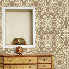 Papel de parede adesivo arabesco - StickDecor   Decoração Criativa