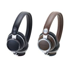 The latest in #sound technology gets  a retro look with the ATH-RE700 on-ear #headphones. They deliver great sounding tunes while looking good too.