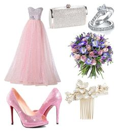 """Wedding day!!"" by miachongkwan on Polyvore featuring beauty, Bling Jewelry, Wedding Belles New York and Philippa Craddock"