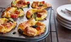 Muffin Tin Stratas - Incredible Egg