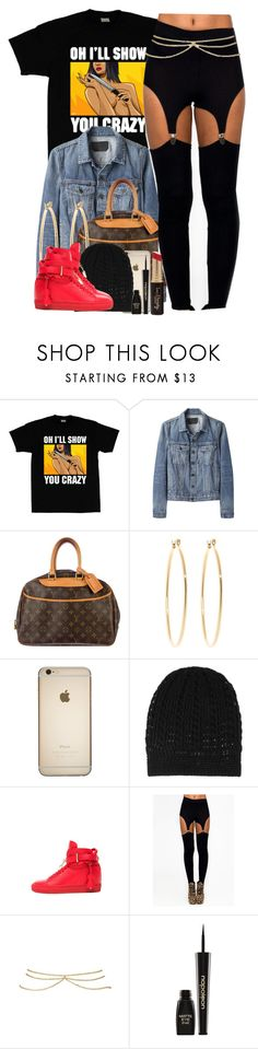 """""""Dedicated to @lulu-foreva"""" by nasiaswaggedout ❤ liked on Polyvore featuring Proenza Schouler, Louis Vuitton, Brooks Brothers, Madeleine Thompson, BUSCEMI, ASOS, Napoleon Perdis and Forever 21"""