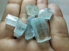 raw aquamarine crystal,rough aquamarine,aquamarine lot,aquamarine beryl, raw aquamarine stone,6 pieces 21 grams from pakistan by Gemscollection4u on Etsy