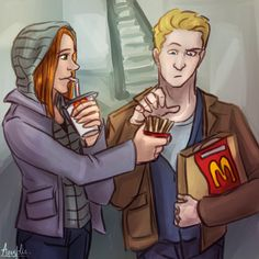 Nat and Steve undercover