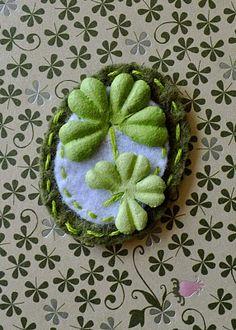 Four Leaf Clover Embellishments