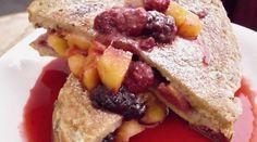Mango-Berry Stuffed French Toast