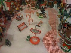Candy Cane Streets of the Department 56 North Pole Village by SC Christmas Store, via Flickr