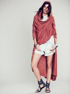 Free People Afternoon Wrap Jacket at Free People Clothing Boutique