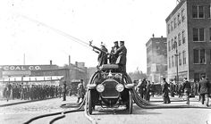 Rare Film Footage of Boston Fire Department Vehicles in Action ...