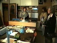 Beata Tyszkiewicz visits Beksiński's atelier, 1989. Confirmation, Youtube, Channel, Furniture, Home Decor, Art, Atelier, Art Background, Kunst