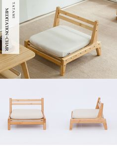 Bamboo chair meditation japanese style with cushion assemble backrest floor seats living room furniture – Modern Zen Furniture, Large Living Room Furniture, Japanese Furniture, Japanese Home Decor, Living Room Chairs, Living Room Decor, Furniture Design, Japanese Style, Rustic Furniture