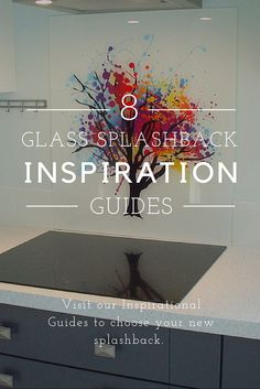 Glass splashbacks can be designed in any pattern or image. It's even possible to design your own. Our Inspiration Guides will guide you on making the right choice of designer splashback.