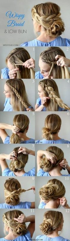 Easy Updos for Long Hair Tutorial