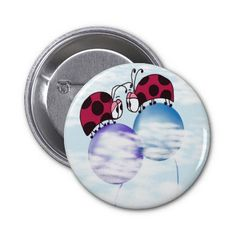 Nowhere But Up From Here! Pinback Buttons.  $3.15
