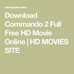 Commando Full Hd Movie Download