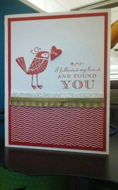 Valentine Card for my husband, Stampin' Up! by N Rankin