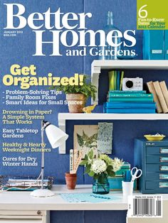Our January Issue is all about organization!