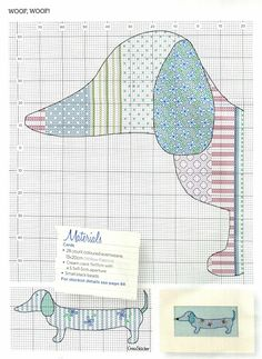 Dachshund pattern. Use Google translate.