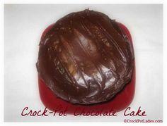 Crock-Pot Chocolate Cake