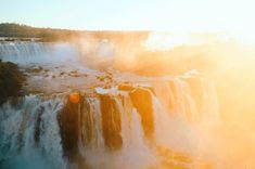 Cataratas do Iguaçu, Brazil - The Globe-Setters Society Come Thou Fount, Create Your Own Image, Waterfall Wallpaper, Free High Resolution Photos, Green Photo, Gold Wallpaper, Sunset Photography, Best Photographers, Landscape Photos