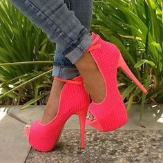 pink barbie heels like these