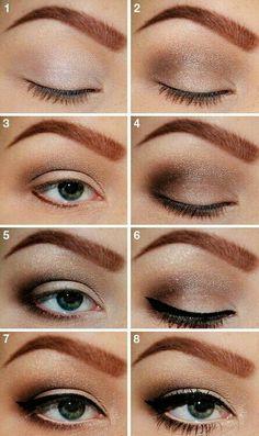 Natural make-op look