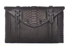Reece Hudson. Large leather bag.