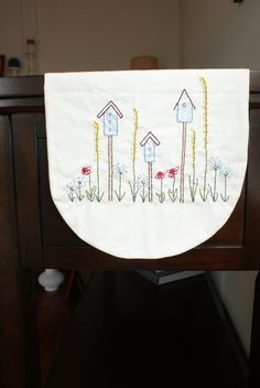 Hand Embroidered Country Style Linen