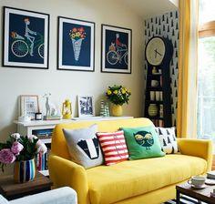 Ideia: amarelo na decoração