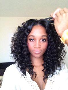 32 Chic Black Weave Hairstyles  Black weave hairstyles Black