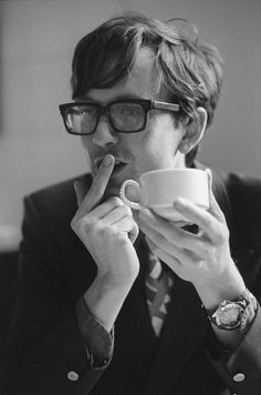 """jacqueslafey: """" Jarvis Cocker by Andrew Catlin (x) """""""