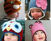 cute crocheted hats for kids