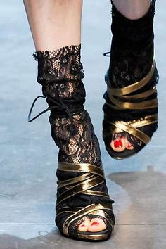 The #Edgy Dolce and Gabbana Shoes trendhunter.com