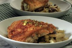 Braised chicken and fennel makes a lovely winter meal.