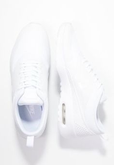 Nike Sportswear AIR MAX THEA - Matalavartiset tennarit - white - Zalando.fi