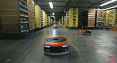Go on a journey with a special delivery | Watch the Robots Shipping Your Amazon Order This Holiday | TIME